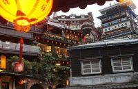 台湾九份の景色