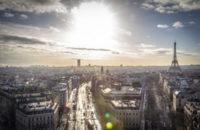 フランス・パリの景色
